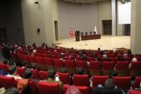 TÜRKÇE EĞİTİMİ - KGTÜ'de 'Milletin Sesi Mehmet Akif Ersoy'' Konulu Konferans