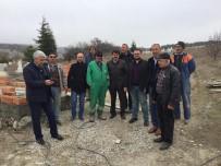 MEHMET ŞAHIN - Kütahya İl Genel Meclisi Adayları Köy Ziyaretlerini Sürdürüyor