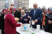 KAPALI ÇARŞI - Malatya'da Askerin Son Yemeği Hoşaf Dağıtıldı