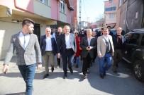 FLORYA - Murat Aydın'dan Yaşlı Adamın Sorusuna 'Tayyip Erdoğan'ın Partisindenim' Göndermesi