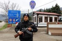 Polislere 'Konak' Gibi Kontrol Noktası