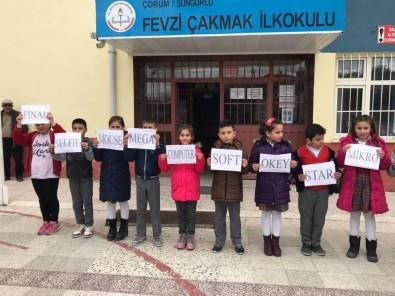 Sungurlu'da Türkçeme Sahip Çıkıyorum Projesi