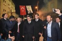 HAVAİ FİŞEK - Başkan Çelik Sancaklıbozköy'de Destek İstedi
