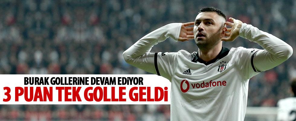 Beşiktaş, tek golle kazandı