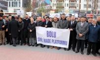 Bolu'da, Yeni Zelanda'daki Cami Saldırısına Tepki