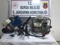 YENIKÖY - Jandarma, Hırsızları Sosyal Medyada Satışa Çıkarılan Çalıntı Mallardan Tespit Etti