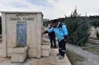 ŞEBEKE SUYU - Karşıyaka Mezarlığında Bakım Onarım