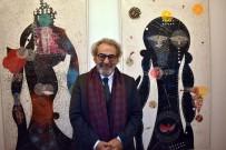 AVRUPA KONSEYI PARLAMENTERLER MECLISI - Prof. Dr. Koçan'ın SANKO Sanat Galerisindeki Sergisine İlgi
