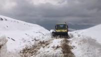 Siirt'te Kar Yağışı Nedeniyle Köylere Ulaşım Sağlanamıyor