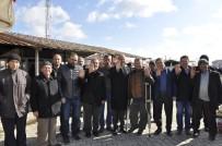 AK Parti Şuhut Heyetinden Sebze Pazarına Ziyaret