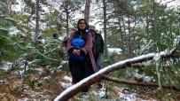 ÇAMLıCA - Gençler, Şehitleri Anmak İçin Kamp Kurdu