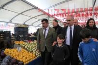 ESNAF ODASı BAŞKANı - Modern Hale Getirilen Cumartesi Pazarı Hizmete Açıldı