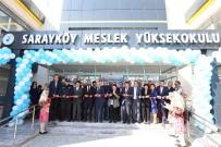 PAÜ Sarayköy Meslek Yüksekokulu Yeni Binası Hizmete Girdi