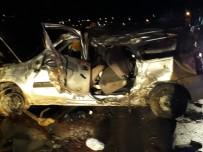 ÇOCUK HASTALIKLARI - Virajı Alamayan Otomobil Takla Attı Açıklaması 2 Ölü, 5 Yaralı