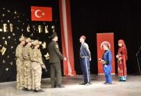 Ahlat'ta 18 Mart Şehitleri Anma Günü Ve Çanakkale Zaferi'nin 104. Yıldönümü