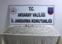 Aksaray'da Tarihi Eser Operasyonu Açıklaması 2 Gözaltı