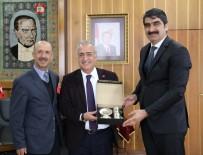 Aşkale Belediye Başkanı Şenol Polat'tan Rektör Çomaklı'ya Ziyaret