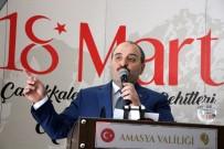 MUSTAFA VARANK - Bakan Varank Amasya'da Binali Yıldırım'a Destek İstedi