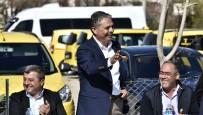 SERVİSÇİLER ODASI - Başkan Uysal'dan Taksicilere 'İşgaliye Ücreti' Müjdesi