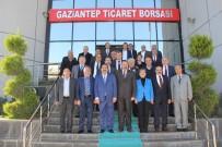 BAYRAM YıLMAZKAYA - CHP Belediye Başkan Adaylarından GTB'ye Ziyaret