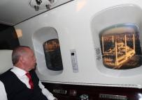 ÇAMLıCA - Cumhurbaşkanı Erdoğan Çamlıca Camii'ni Havadan İnceledi