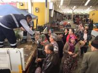 MESUT ÖZAKCAN - Efeler Belediyesi Vatandaşlara Mazı Fidanı Dağıttı