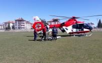 Hava Ambulansı, Rabia Teyze İçin Havalandı