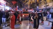 Kırıkkale'de Şehitler Anısına Fener Alayı
