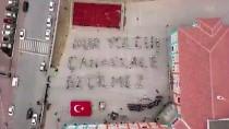 EMEKLİ ÖĞRETMEN - Öğrencilerden 'Çanakkale' Koreografisi