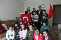 Öğrencilerden Şehit Ailesine Ziyaret