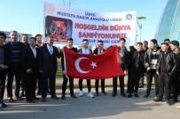 CUMHURİYET ALTINI - Ordu Dünya Şampiyonunu Karşıladı