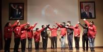 CEMİL MERİÇ - Özel Öğrenciler Çanakkale Şehitlerini Anlamlı Gösterile Andı