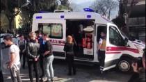 Polis Memurunu Darbetti Kaçarken Kaza Yaptı