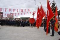SİYASİ PARTİ - Şehitleri Anma Günü Ve Çanakkale Deniz Zaferi'nin 104. Yıl Dönümü Şenkaya'da Kutlandı