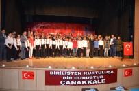 MEHMET ALİ ÖZKAN - Tatvan'da 18 Mart Şehitleri Anma Günü Ve Çanakkale Zaferi'nin 104. Yıldönümü