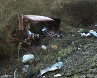 ALEYNA - Alkollü Sürücü Yolda Arıza Yapan Araca Çarptı Açıklaması 5 Yaralı