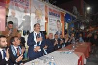 MEHMET ALİ ÖZKAN - Aşağıçobanisa'da Cumhur İttifakı'na Coşkulu Karşılama