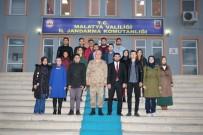 EĞİTİM DERNEĞİ - Gençlerden 18 Mart Anısına İl Jandarma Komutanlığına Ziyaret