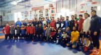 MİLLİ SPORCULAR - Grekoromen Güreş Milli Takımı, Avrupa Şampiyonası İçin Kampa Girdi