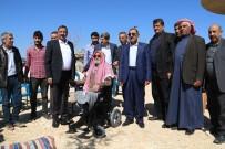 Harran'da Engelli İki Vatandaşa Akülü Tekerlekli Sandalye