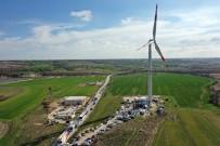 ENERJİ SANTRALİ - Kapaklı'da Rüzgar Santrali Hizmete Açıldı