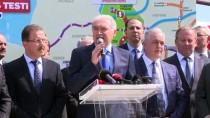 Katenersiz Tramvay Hattının Test Sürüşleri Başladı