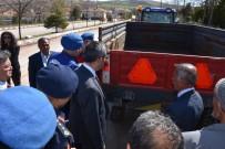 Kırıkkale'de 'Reflektör Tak Görünür Ol Projesi'