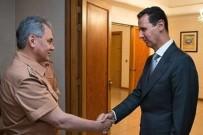 SURIYE DEVLET BAŞKANı - Rusya Savunma Bakanı Şoygu, Esad'la Görüştü