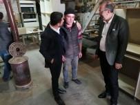 Seçen, AK Parti Belediye Başkan Adayı Arı İle Sanayi Esnaflarını Ziyaret Etti