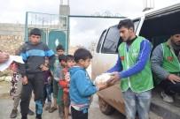 Suriye'deki Yetimlere Ve Öğretmenlere Ekmek Yardımı