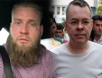 Terörist ile Brunson arasında ilişki var mı?