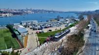 Türkiye'nin İlk Yerden Beslemeli Tramvay Hattının Test Sürüşleri Başladı