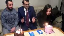 MEHMET CAN - Bakan Dönmez, Gençlerin Doğum Gününü Kutladı