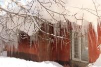Bitlis'te 70 Köy Yolu Ulaşıma Kapandı, Tek Katlı Evler Kar Hapsinde